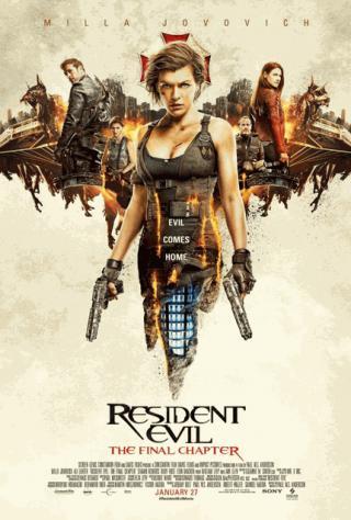 فيلم Resident Evil The Final Chapter 2017 مترجم