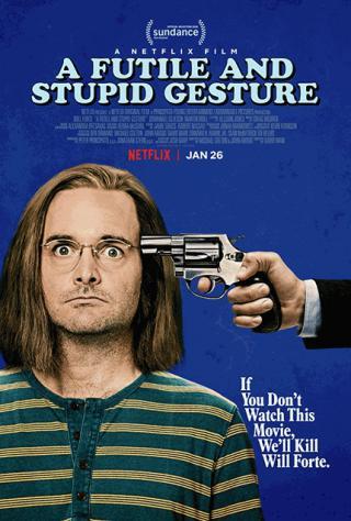فيلم A Futile and Stupid Gesture 2018 مترجم