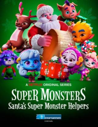 فيلم Santa's Super Monster Helpers 2020 مترجم