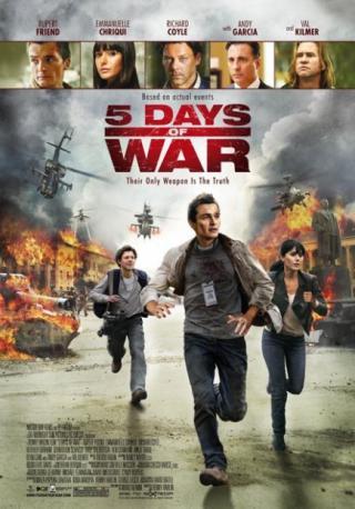 فيلم 5 Days Of War 2011 مترجم
