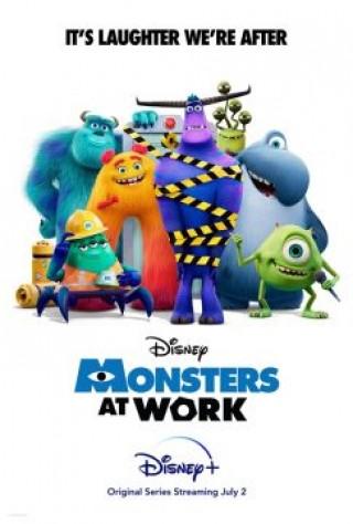 مسلسل المرعبين في العمل Monsters at Work مترجم
